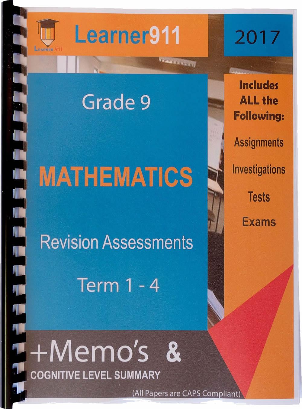 Learner and Teacher Assessment911 Revision Books
